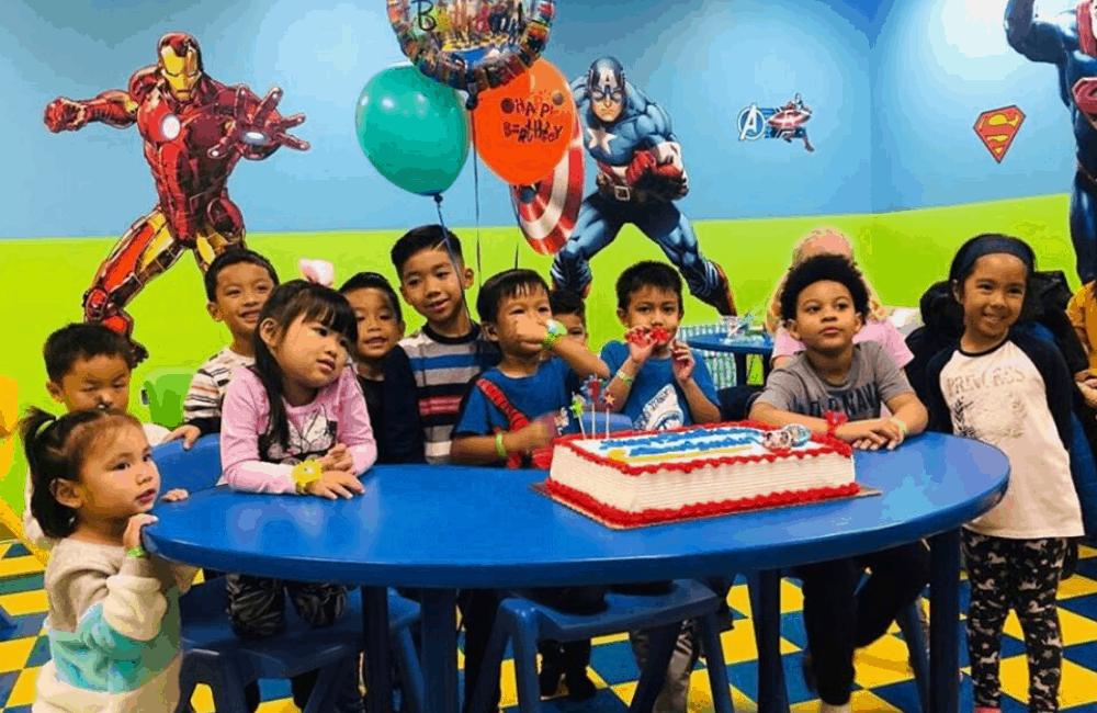 FunVille Playground and Cafe Is The Best Kids Birthday Party Venue